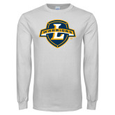 White Long Sleeve T Shirt-L Warriors