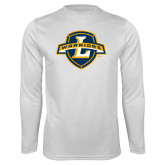Performance White Longsleeve Shirt-L Warriors