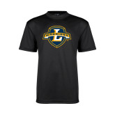 Youth Syntrel Performance Black Training Tee-L Warriors