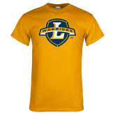 Gold T Shirt-L Warriors
