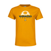 Youth Gold T Shirt-Warriors Soccer