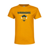 Youth Gold T Shirt-Warriors Wrestling