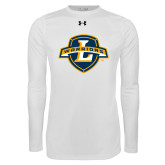 Under Armour White Long Sleeve Tech Tee-L Warriors