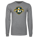 Grey Long Sleeve T Shirt-L Warriors