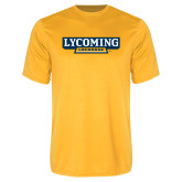 Performance Gold Tee-Lycoming Lacrosse
