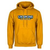 Gold Fleece Hoodie-Lycoming Basketball