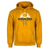 Gold Fleece Hoodie-Warriors Soccer
