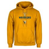 Gold Fleece Hoodie-Warriors Lacrosse