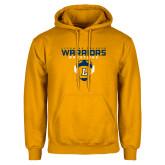 Gold Fleece Hoodie-Warriors Wrestling
