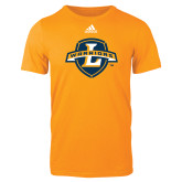 Adidas Gold Logo T Shirt-L Warriors