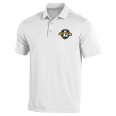 Under Armour White Performance Polo-L Warriors