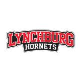 Medium Decal-Lynchburg Hornets Wordmark, 8 in Wide