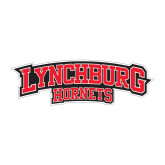 Medium Decal-Lynchburg Hornets, 8 inches wide