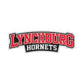 Small Decal-Lynchburg Hornets Wordmark, 6 in Wide