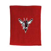 Red Rally Towel-Hornet Bevel L