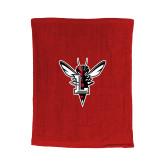 Red Rally Towel-Hornet Bevel L