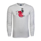 White Long Sleeve T Shirt-Hornet