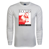 White Long Sleeve T Shirt-Eccles Day
