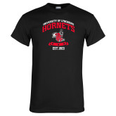 Black T Shirt-Lynchburg College Hornets