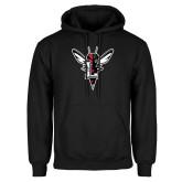 Black Fleece Hoodie-Hornet Bevel L