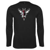 Syntrel Performance Black Longsleeve Shirt-Hornet Bevel L