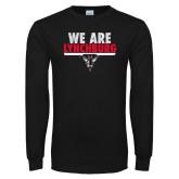 Black Long Sleeve T Shirt-We Are Lynchburg