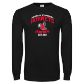 Black Long Sleeve T Shirt-Lynchburg College Hornets