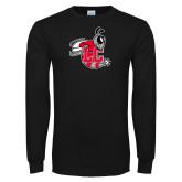 Black Long Sleeve T Shirt-Hornet