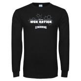 Black Long Sleeve T Shirt-We Are Won Nation