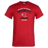 Red T Shirt-Lynchburg College Hornets