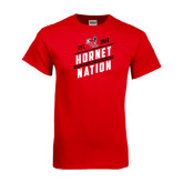 Red T Shirt-Hornet Nation
