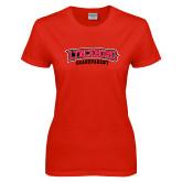Ladies Red T Shirt-Grandparent