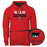 Contemporary Sofspun Red Hoodie-We Are Lynchburg