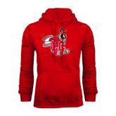 Red Fleece Hoodie-Hornet