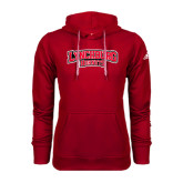 Adidas Climawarm Red Team Issue Hoodie-Lynchburg Hornets