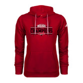 Adidas Climawarm Red Team Issue Hoodie-ODAC Champions Womens Basketball