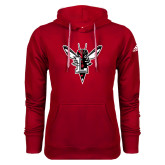 Adidas Climawarm Red Team Issue Hoodie-Hornet Bevel L