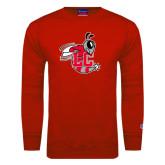 Red Fleece Crew-Hornet