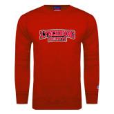 Red Fleece Crew-Lynchburg Hornets