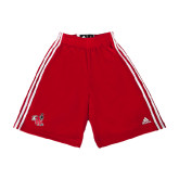 Adidas Climalite Red Practice Short-Hornet