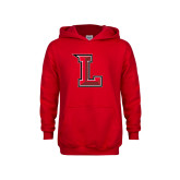 Youth Red Fleece Hoodie-Stinger L