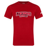 Adidas Red Logo T Shirt-Lynchburg Hornets