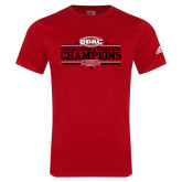 Adidas Red Logo T Shirt-ODAC Champions Womens Basketball