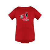 Red Infant Onesie-Hornet