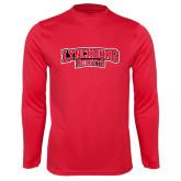 Syntrel Performance Red Longsleeve Shirt-Lynchburg Hornets
