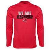 Syntrel Performance Red Longsleeve Shirt-We Are Lynchburg