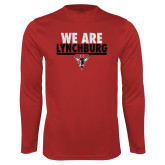 Syntrel Performance Red Longsleeve Shirt-We Are Lynchburg
