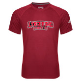 Adidas Climalite Red Ultimate Performance Tee-Lynchburg Hornets