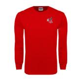 Red Long Sleeve T Shirt-Hornet