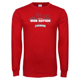 Red Long Sleeve T Shirt-We Are Won Nation